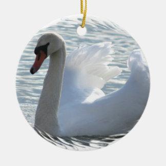 Trumpet Swan Ornament