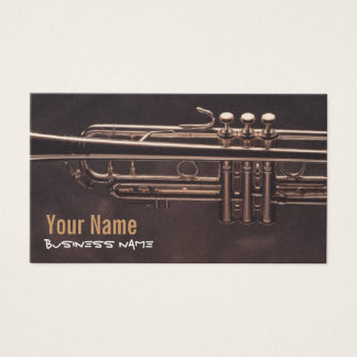 Trumpet Valves Business Cards