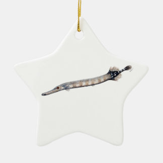 Trumpeta fish christmas ornament