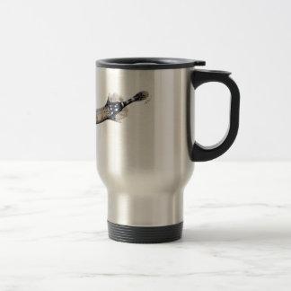 Trumpeta fish travel mug