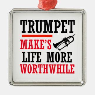 Trumpete  design ornament