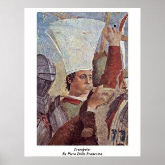 Trumpeter By Piero Della Francesca Poster