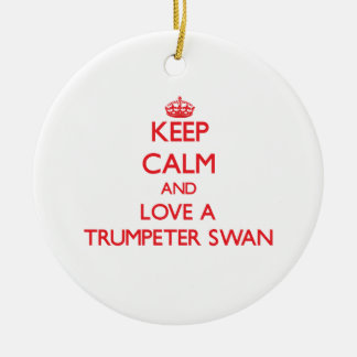 Trumpeter Swan Ornament