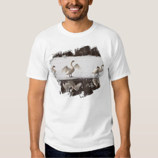 Trumpeter Swan Pairs Tee Shirt