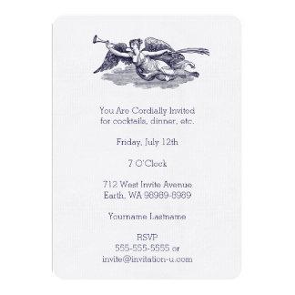 Trumpeting Angel 13 Cm X 18 Cm Invitation Card