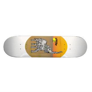 Trumpeting Elephant Skate Board