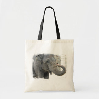 Trumpeting Elephant Tote Bag