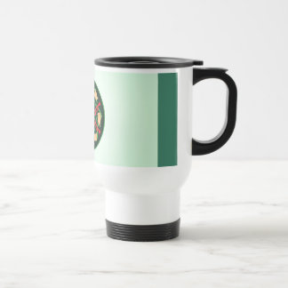 Trumpets and Ribbons Stainless Steel Travel Mug