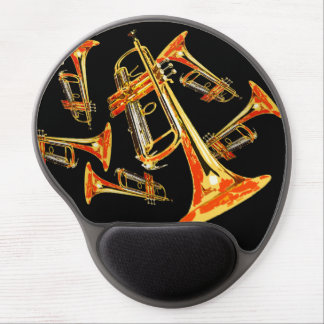 Trumpets Gel Mouse Pad
