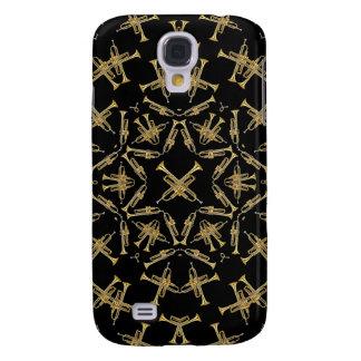 Trumpets Kaleidoscope 3G/3GS  Galaxy S4 Case