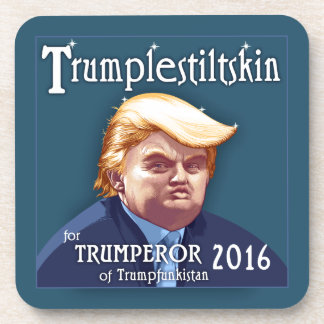 Trumplestiltskin Beverage Coaster