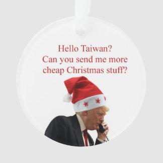 Trump's Christmas call to Taiwan