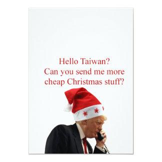 Trump's Christmas call to Taiwan Card