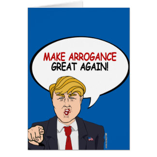 Trump's Hair Force One Greeting Card