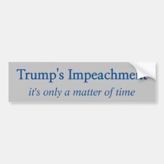 Trump's Impeachment Bumper Sticker