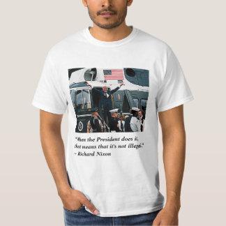 Trump's Nixonian Resignation Departure T-Shirt