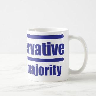 Trumpservative the silent majority, coffee mug
