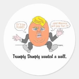 Trumpty Dumpty stickers
