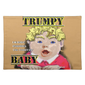 Trumpy Baby Cloth Place Mat