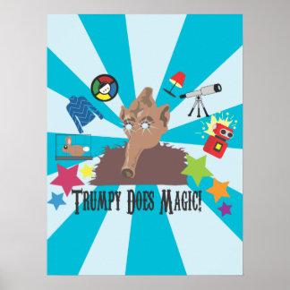 Trumpy Does Magic! Poster