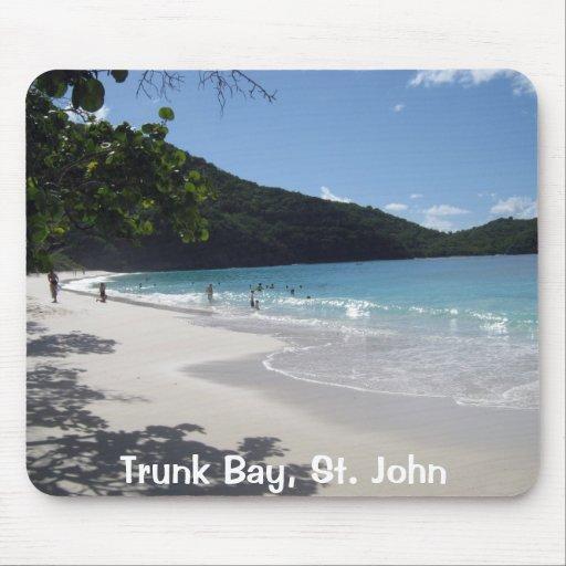 Trunk Bay, St. John Mousepad