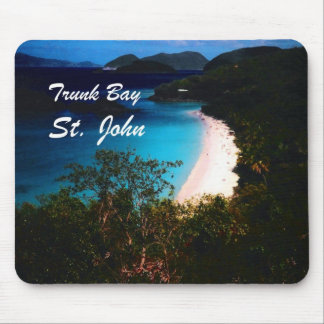 Trunk Bay St John Mouse Pads