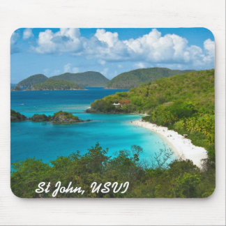 Trunk Bay, St John USVI Mouse Mat