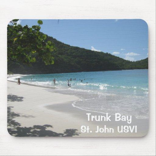 Trunk Bay, St. John USVI Mouse Pad