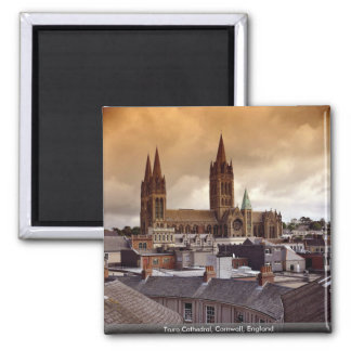 Truro Cathedral, Cornwall, England Magnet