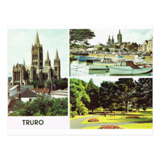 Truro, Cornwall, England Postcard