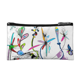 Trusses of small size make-up, Alice' S Garden Makeup Bag