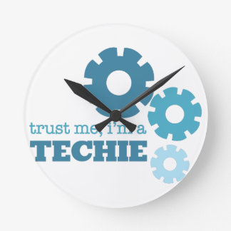 Trust A Techie Wallclock