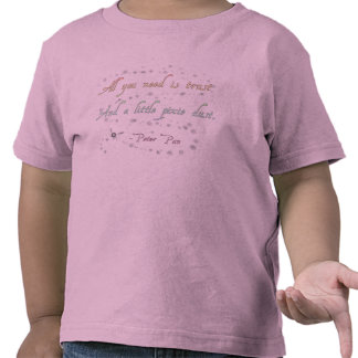 Trust and Pixie Dust Toddler Basic Shirts