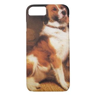 Trust by Charles Burton Barber, Saint Bernard dog iPhone 7 Case