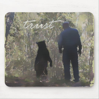 Trust - Denise Beverly Mouse Mat