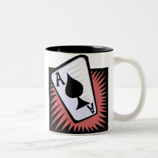 TRUST EVERYBODY, BUT CUT THE CARDS MUGS