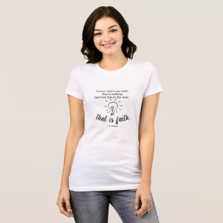 Trust God by Spurgeon Quote T-Shirt