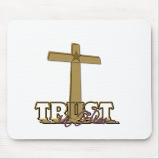 Trust In Him Mouse Pad