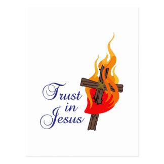 TRUST IN JESUS POSTCARDS