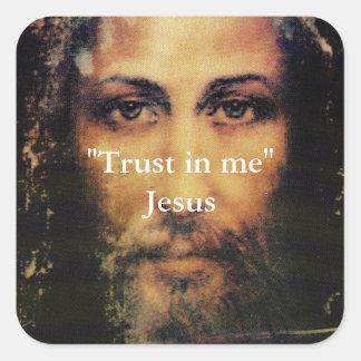 Trust in Me - Image of Jesus Christ  Sticker