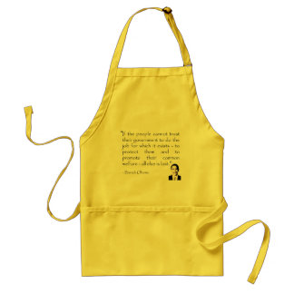 Trust in the government, Barack Obama Standard Apron