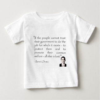 Trust in the government, Barack Obama Shirt
