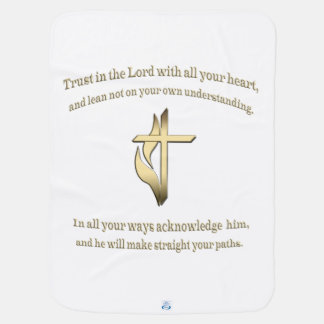 Trust in the lord items pramblanket