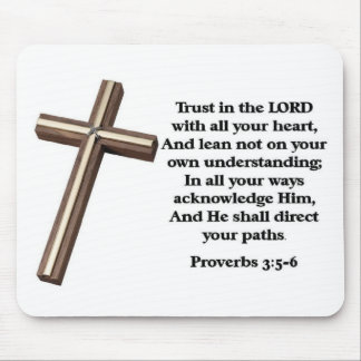 Trust in the Lord Mouse Mat
