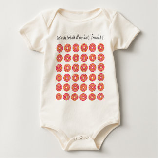 Trust in the Lord with all your heart Baby Bodysuit