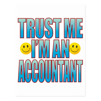 Trust Me Accountant Life B Postcard