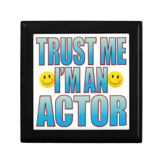 Trust Me Actor Life B Small Square Gift Box