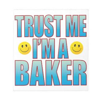 Trust Me Baker Life B Notepad