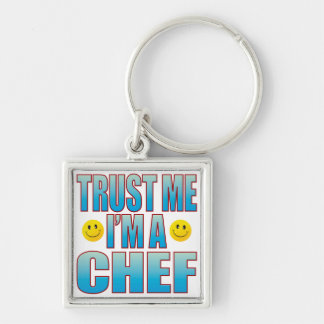 Trust Me Chef Life B Key Ring
