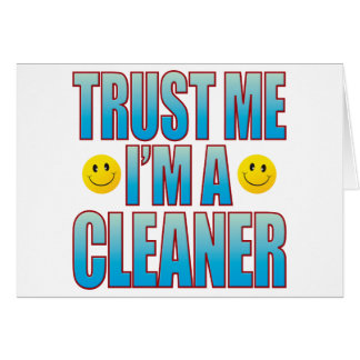 Trust Me Cleaner Life B Card